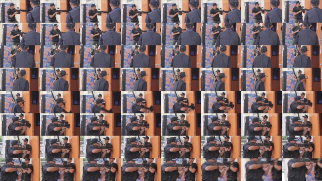 image sequence contact sheet